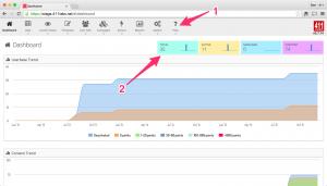 InSite 0.7.15 Dashboard Screenshot